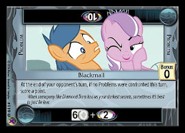 My Little Pony Blackmail Marks in Time CCG Card