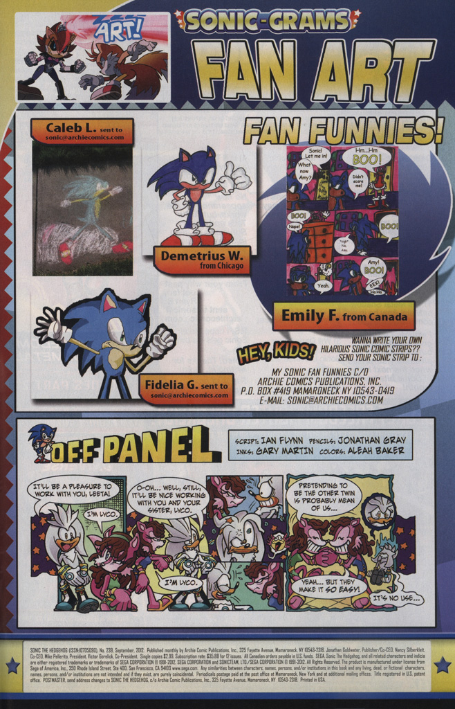 Read online Sonic The Hedgehog comic -  Issue #239 - 33