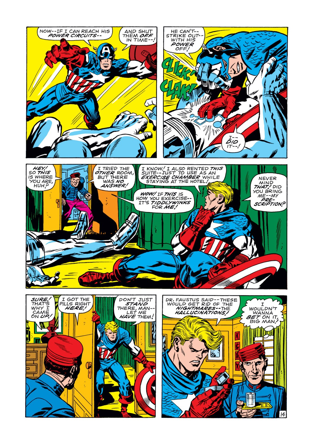 Captain America (1968) Issue #107 #21 - English 15