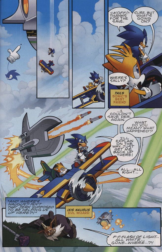 Read online Sonic The Hedgehog comic -  Issue #231 - 9