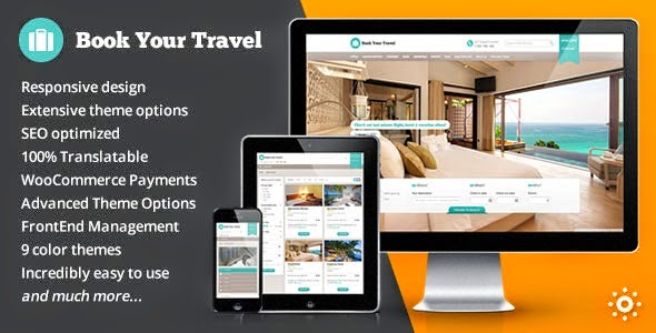 Book Your Travel v5.3 Online Booking WordPress Theme