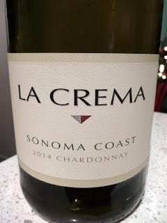 La Crema Sonoma Coast Chardonnay 2014 - Sonoma Coast, California, USA (90 pts)