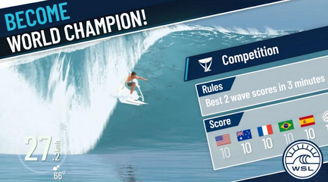 True Surf Mod Apk V1.0.8.6 For Android (Unlocked & Unlimited Money) Terbaru 2019