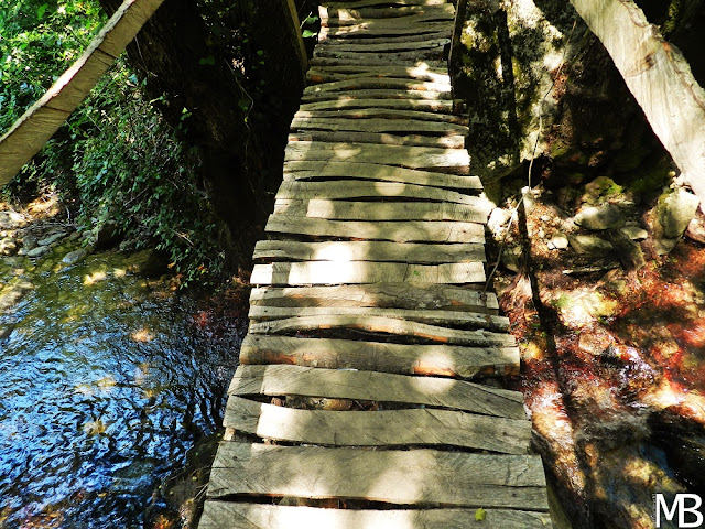 sentiero cascate bivongi calabria
