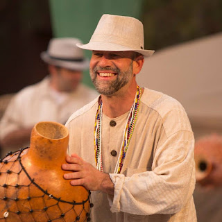 "Founder of the Ashland World Music Festival, Tony ""Popeye"" Stern plays and teaches AfroCuban folkloric percussion in Ashland Oregon. The Ashland World Music Festival is his gift to Ashland for welcoming him into the community"