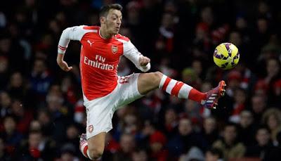 Rezekibola.com - Arsenal menang 2-0 tanpa balasan dari Bournemounth