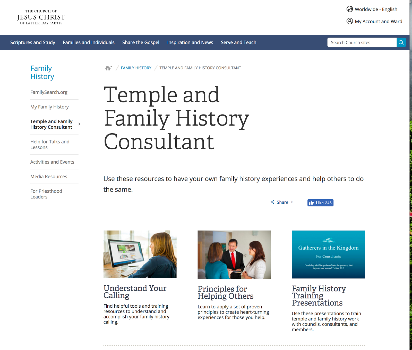 Rejoice, and be exceeding glad   : LDS org Online Resources for