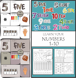 https://www.teacherspayteachers.com/Product/Number-Vocabulary-1-10-Practice-Activities-2884726
