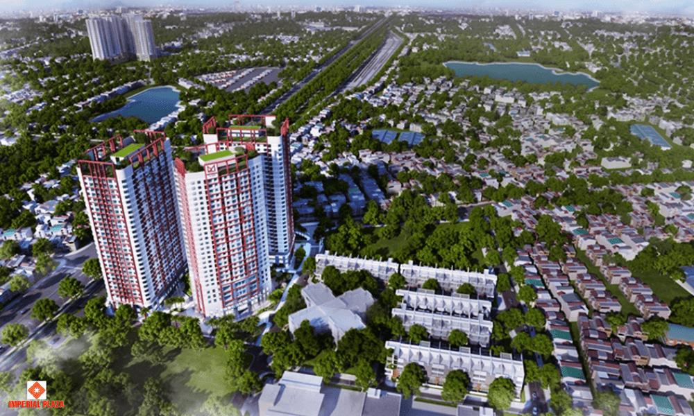 Imperial Plaza biểu tượng kiến trúc phía Nam