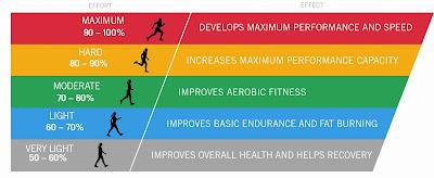 เลือกระดับการฝึกซ้อมด้วย HR Training Zone
