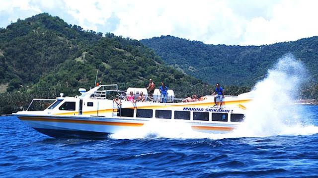 Fast Boat Lombok - Serangan oleh Marina Srikandi