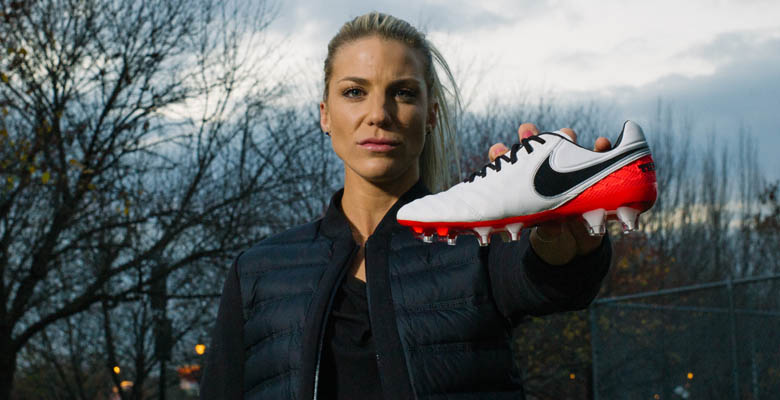 the nextgen nike tiempo legend womenus boot is presented by us womenus national team defender julie johnston who burst onto the global soccer scene in