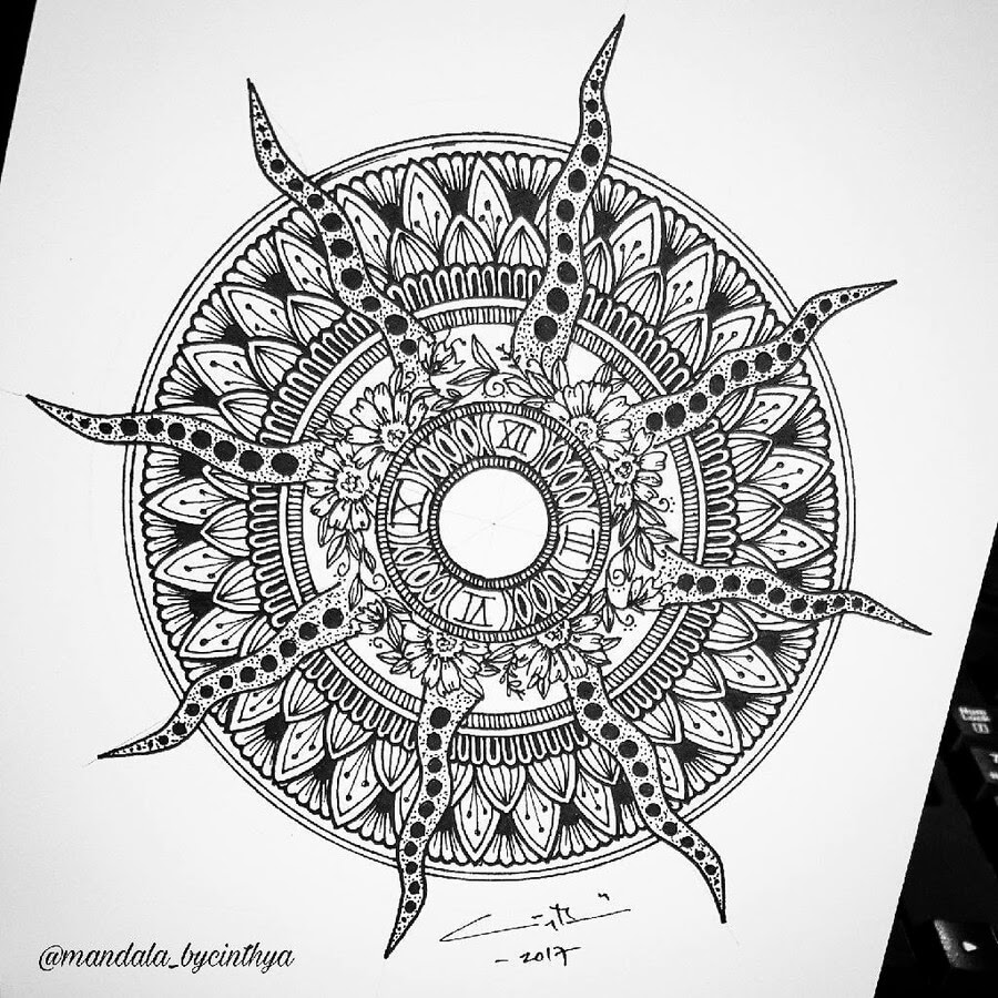 06-Time-Clock-Face-Bycinthya-Mandala-Designs-www-designstack-co
