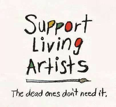 Support Living Artists