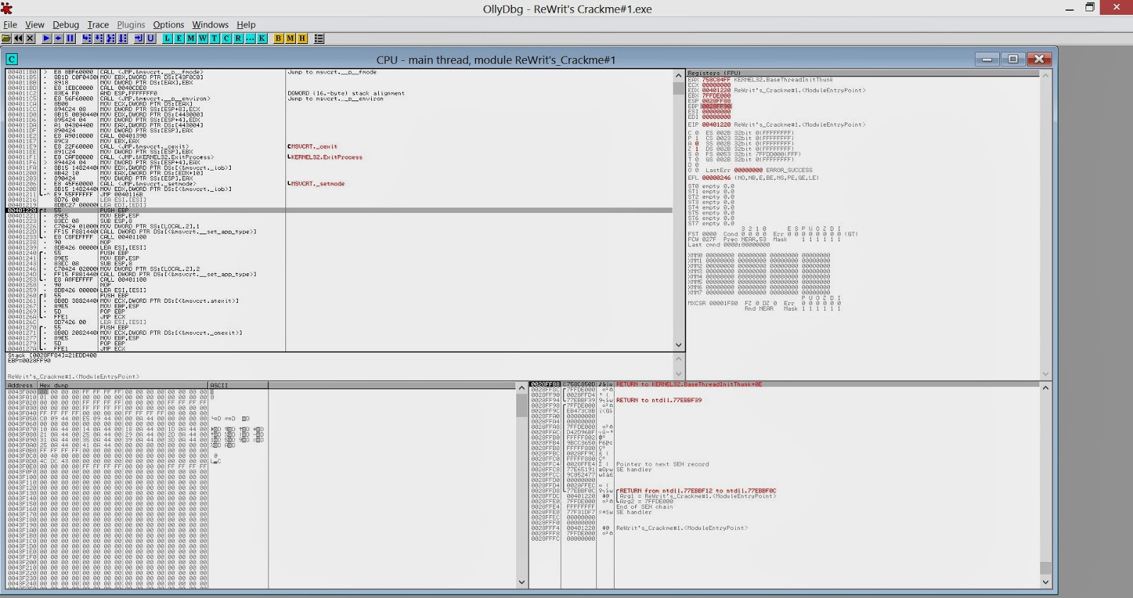 Reverse Engineering 101: Patching The Executable