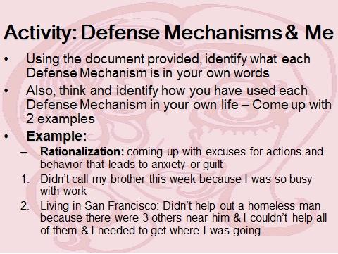 advantages of defense mechanisms