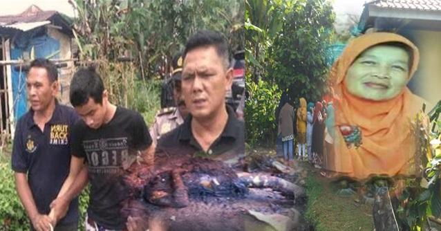 Gambar Dan Latar Belakang Mangsa Yang Dibakar Anak Kandung Sendiri. MASYA ALLAH!!