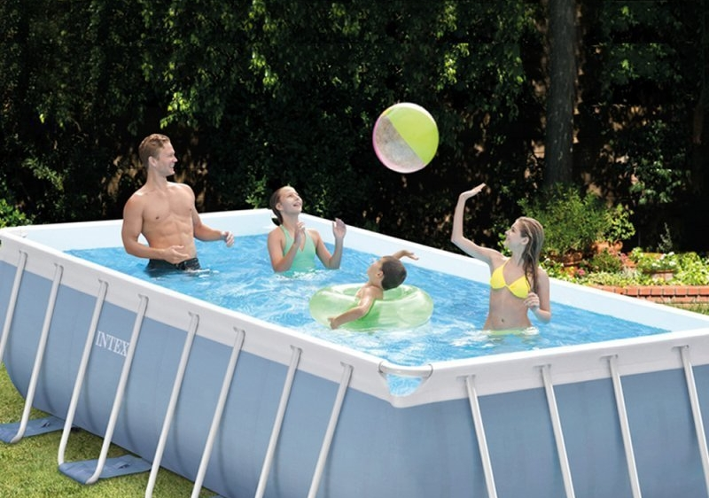 piscina in PVC di Intex