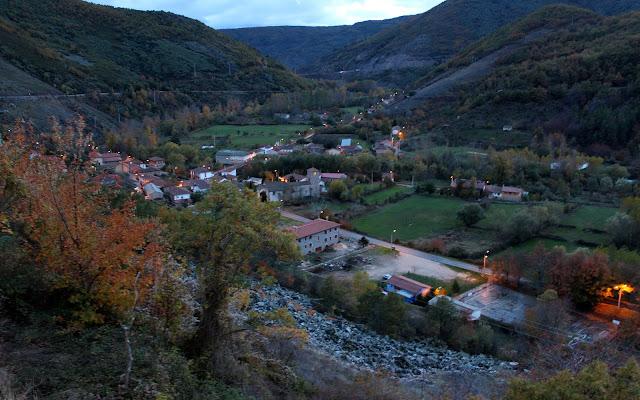 Barrios de Luna en la comarca de Luna. León
