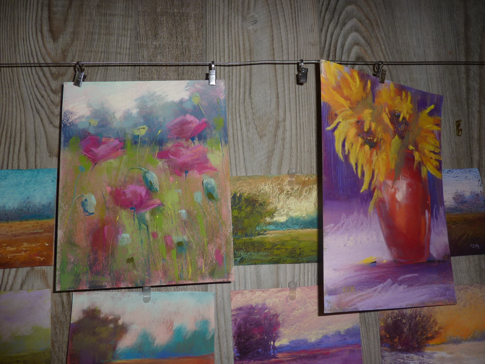 Painting My World Storing Finished Pastel Paintings Part 1