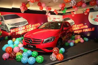 Raashi Khanna at Mirchi 95 Suno Mercedes Jeeto Contest Stills  0057.jpg