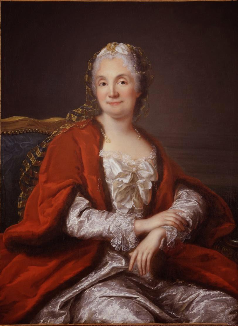 Portrait Présumé de Madame Geoffrin, Marianne Loir