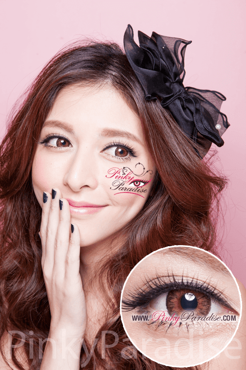 G&G Aurora Hazel Circle Lenses (Colored Contacts)