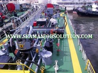 Seaman jobs bosun for bunkering tanker vessel