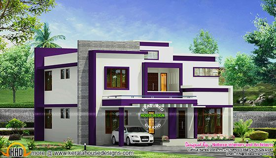 Contemporary home design by Nobexe Interiors, Calicut, Kerala