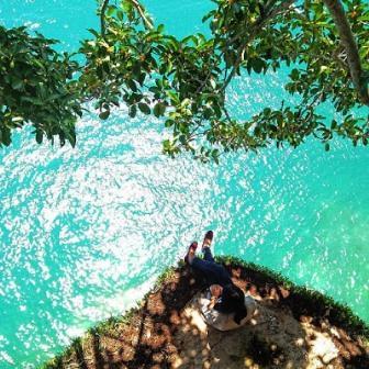 Pesona Wisata Lampung Selatan di Pantai Tanjung Tuha Bakauheni