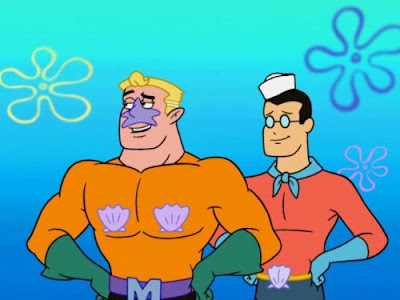mermaid man and bernacle boy