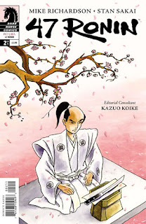 47 Ronin #2 Writer: Mike Richardson Artist: Stan Sakai Colors: Lovern Kindzierski Letters: Tom Orzechowski, Lois Buhalis