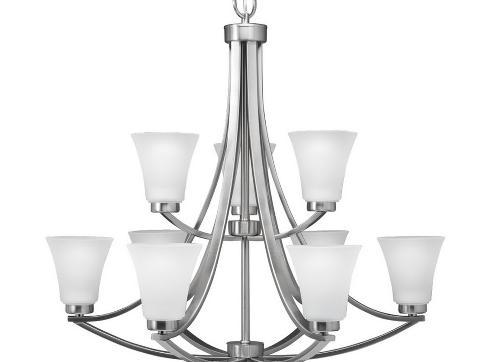 brushed nickel dining room light fixtures