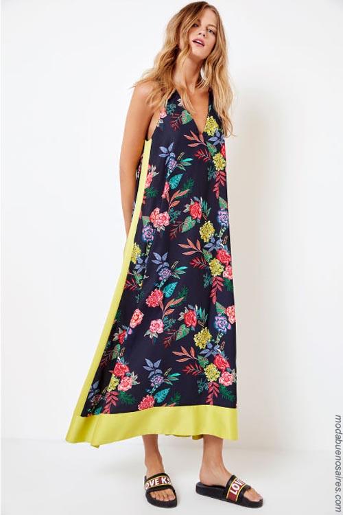 Vestidos primavera verano 2019. Ropa de moda mujer verano 2019.