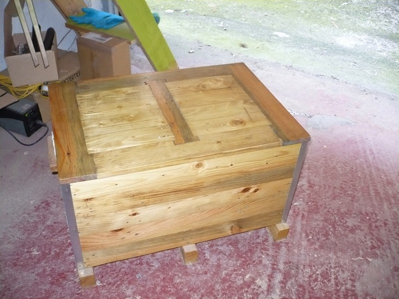 arcn para con madera de palet
