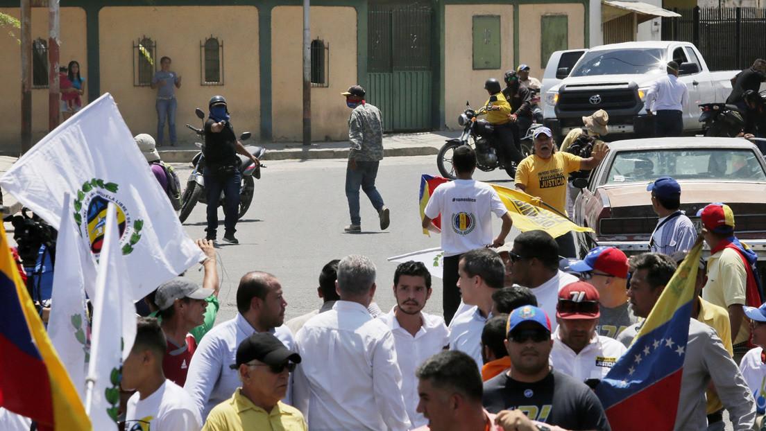 El Gobierno de Venezuela anuncia la detención del supuesto agresor de Guaidó, quien habría sido contratado por su propio equipo