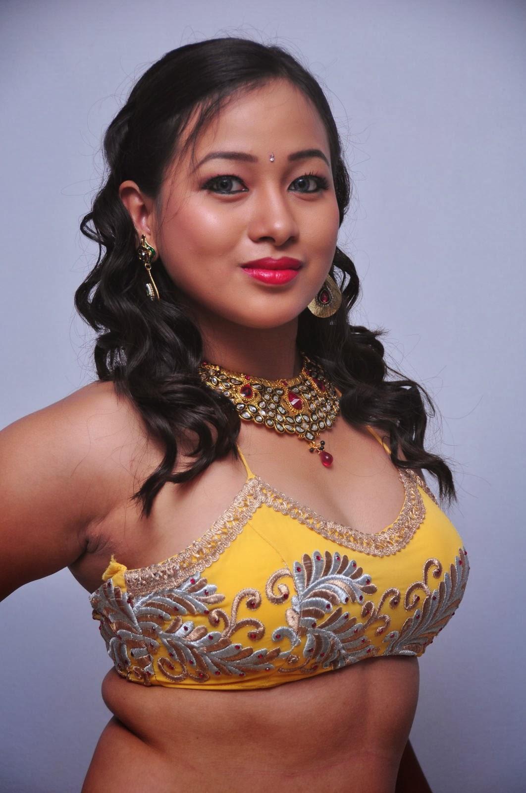 Telugu Item Girl Sneha Spicy Armpits And Waist Exposing Stills