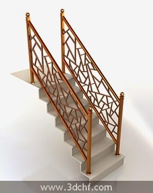 free 3d model stair