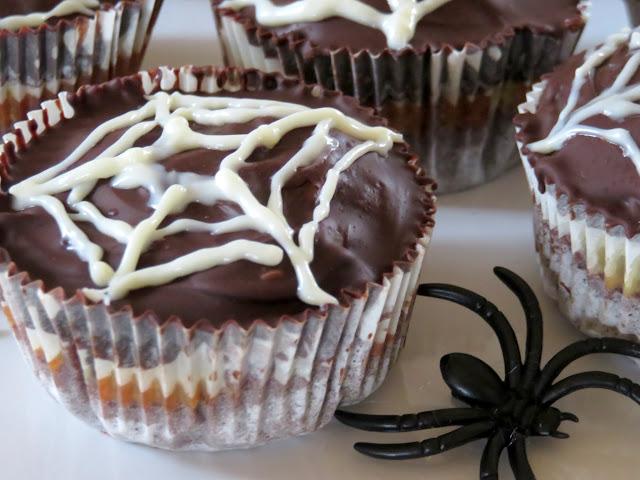 Spinnweben- Muffins