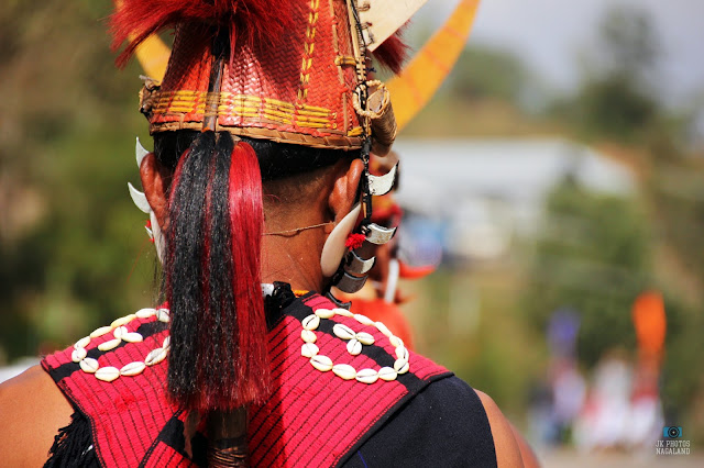 Yimchunger Naga Men Traditional Attires Hornbill Festival Photos