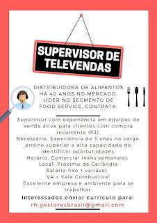 Supervisor de Televendas