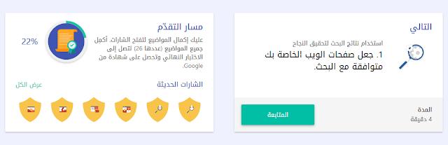 كورس جوجل لتعلم التسويق الرقمى وتحسين نتائج البحث  Digital Marketing (seo) 2018