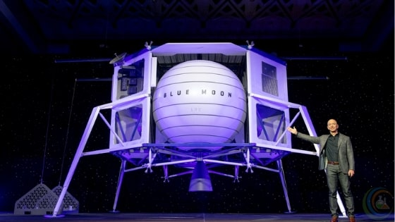 Blue Origin launched Biggest Lunar Lander Blue Moon