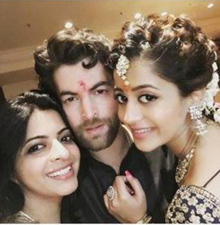 Image result for Actor Neil Nitin Mukesh got engaged to Rukmini Sahay on Wednesday.