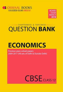Oswaal CBSE Chapterwise/Topicwise Question Bank For Class 12 Economics|