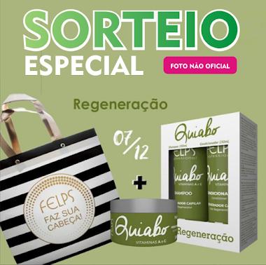 Sorteio Especial - Ganhe um Kit Shampoo, Condicionador e Máscara