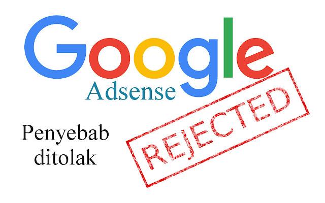 cara daftar adsense yang pernah ditolak