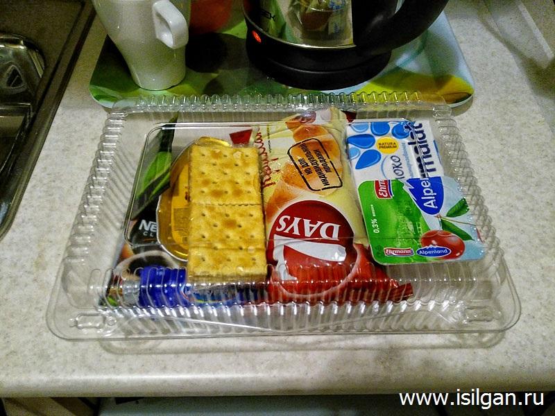 Комплексный завтрак в гостинице. Москва