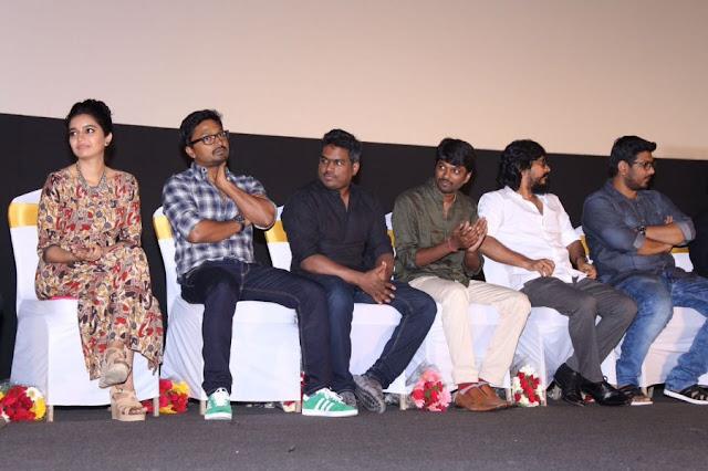 Actress Swathi at Yaakkai Tamil Movie Audio Launch