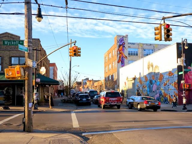 Australian Street Artist Reka Stops By New York City to paint in Bushwick and Queens - November 2013. 3
